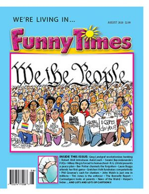 Funny Times August 2020 Issue