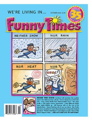 Funny Times October 2020 Issue