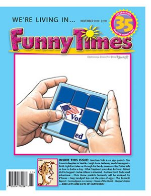 Funny Times November 2020 Issue