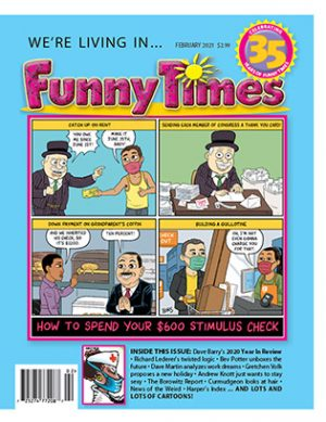 Funny Times February 2021 Issue