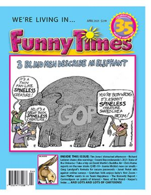 Funny Times April 2021 Issue