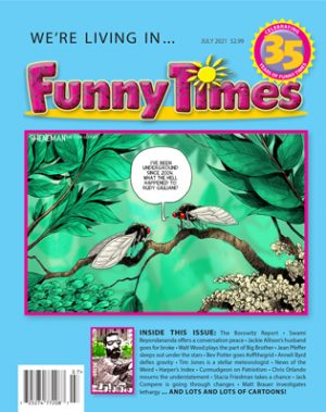 Funny Times July 2021 Issue