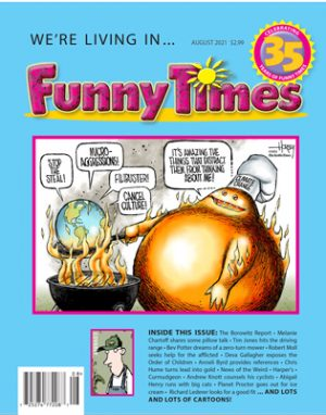 Funny Times August 2021 Issue