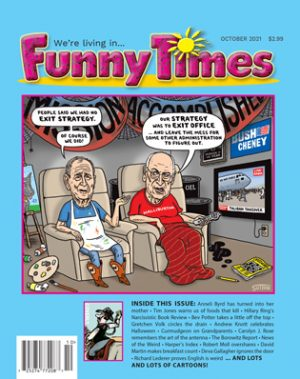Funny Times October 2021 Issue